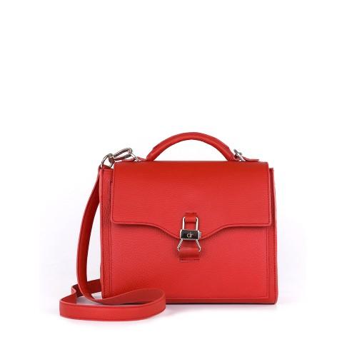 Mini bolso con tapa