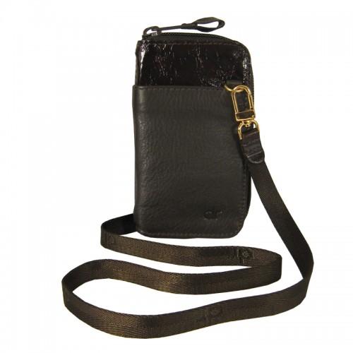 Portacelular con zipper