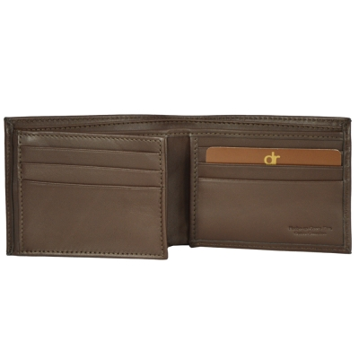 Billetera con aleta izquierda