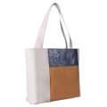 BOLSO  SHOPPER COLOR BLOCK